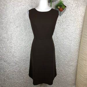 Talbots Chocolate Brown Career Dress | 14